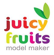 juicy fruits model makers for advertising moving image stills