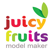 Juicy Fruits Retina Logo
